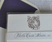 Save Endangered Species Letterpress Card & Envelope