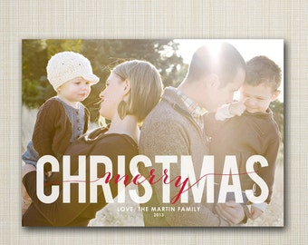 Christmas card, christmas photo card, photo Christmas card, Christmas holiday card, digital Christmas card, printable Holiday card