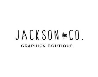 Capital Script: Pre-made Logo Design