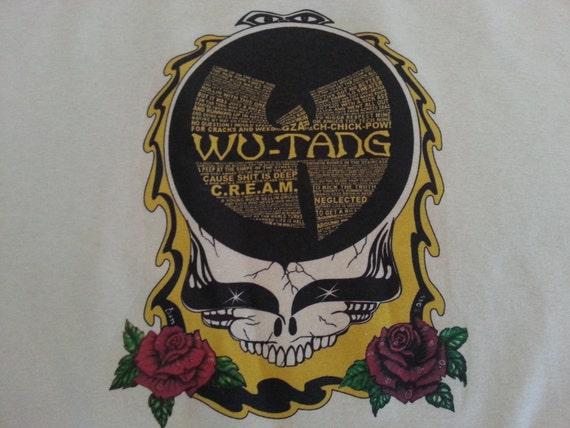 WUTANG CLAN ( Grateful Dead )  Double Sided T-shirt