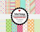 Digital Scrapbook Perfect Package-INSTANT DOWNLOAD