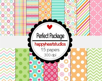 Digital Scrapbook Perfect Package-INSTANT DOWNLOAD