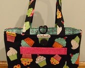 NWT Totally Toteable Totes CupCakes Cupcakes Cupcakes Tote