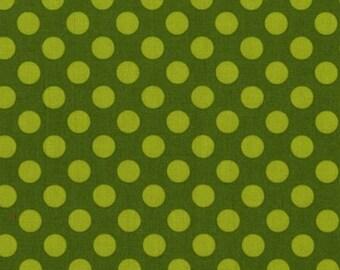 One (1) Yard - Ta Dot Moss Green Michael Miller CX1492-Moss