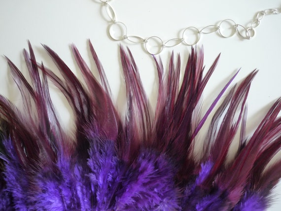COQUE SADDLE  Exquisite  Quality  / Iridescent Iris Purple  / 119 / On Sale