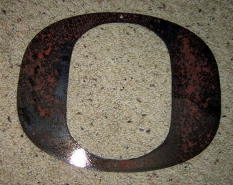 "The ""O"" Ducks - University of Oregon Ducks Metal art"