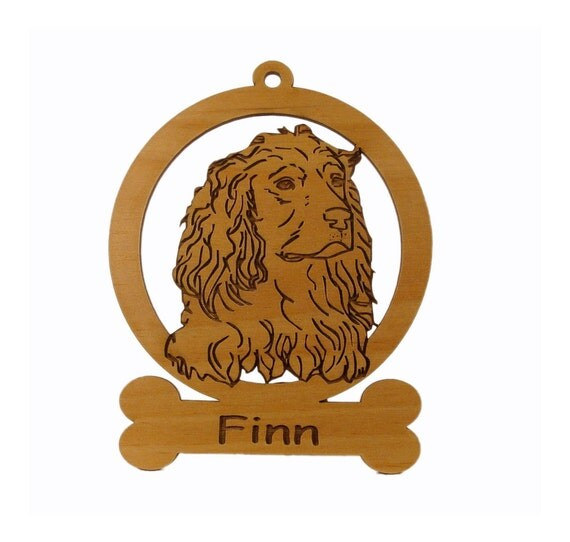 Boykin Spaniel Ornament 081963 Personalized With Your Dog's Name