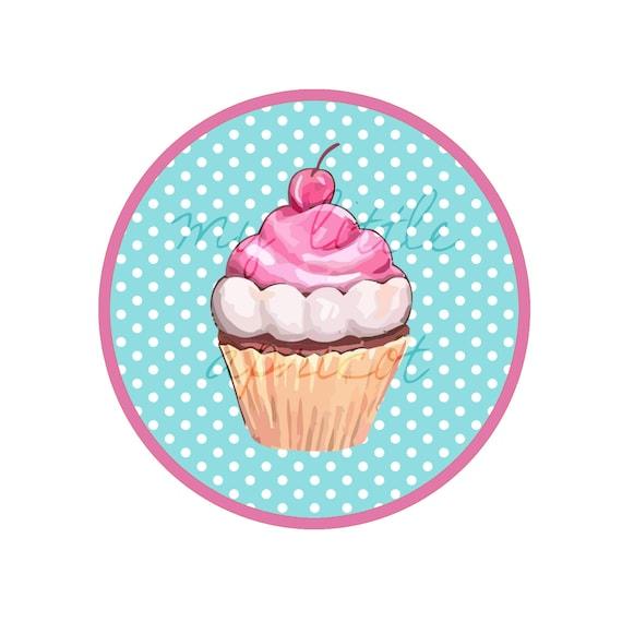 Items Similar To Sweet Treats Cupcake Printable Birthday