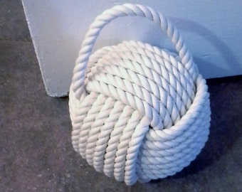 Monkey Fist Doorstop
