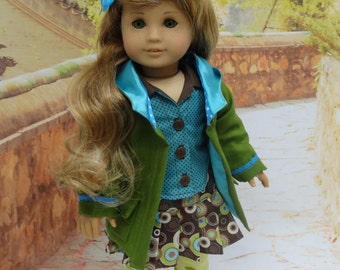 Eclectic Soul - Skirt Set with Jacket for American Girl