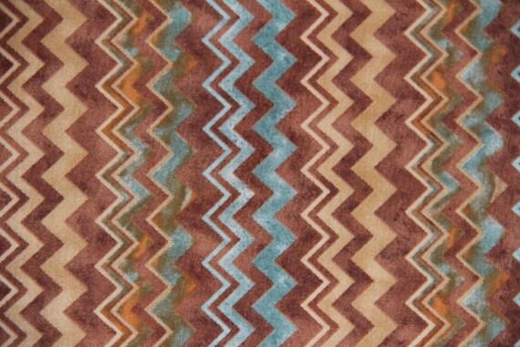Southwestern Fabric Studio 8 Quilting Treasures Chevron Print