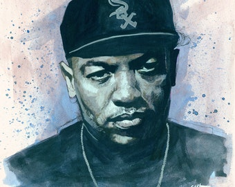 Dr. Dre - 16 x 16 Giclee Print SIGNED EDITION