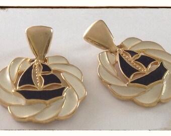 Large Nautical Earrings