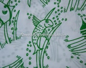 Fun Funky Fish  - Vintage Fabric New Old Stock Novelty Ocean Aquarium Beach Animals