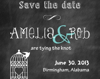 Chalkboard cards Chalkboard wedding save the date notes wedding chalkboard invitations bridal