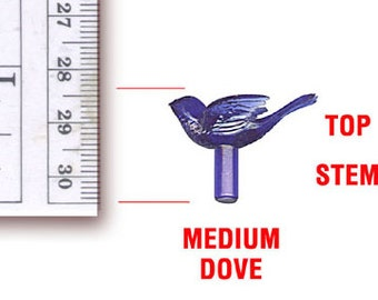 Ceramic Christmas Tree Dove Lights - 14 Medium Doves
