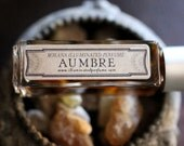 Aumbre Natural Perfume  - 6 grams of the Eau de Parfum - A delicious amber steeped in incense, smoke and vanilla.