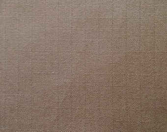60 Inch Wide Cotton Ripstop Fabric TAUPE Medium Brown