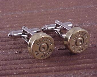 Bullet Cufflinks / 45 Auto Cuff Links / Wedding Cufflinks / Groomsmen Gift / Fathers Day Gift / Gifts For Men / Bullet Cuff Links