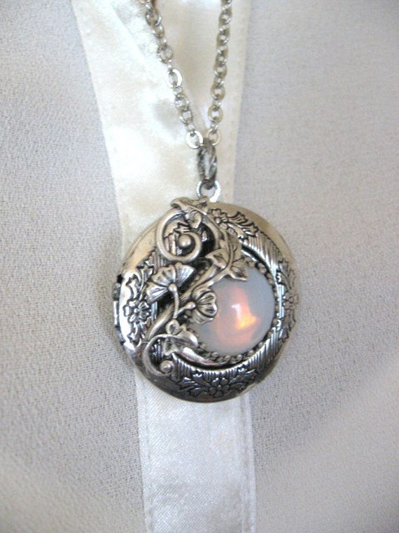 Moon Locket Enchanted Forest Locket Enchanted By Charmedvalley
