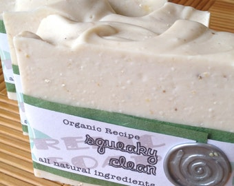 Squeaky Clean Organic Artisan Soap