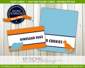 INSTANT DOWNLOAD - Dino-mite: Food Labels - Item 157