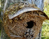 Rustic Woodland Birdhouse by bearpawrustics in Maine - bearpawrustics