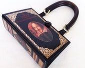 Shakespeare Book Purse - William Shakespeare Recycled Book - Literature Gift