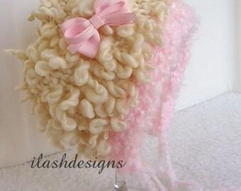 Little Lamb Bonnet Knit Pattern
