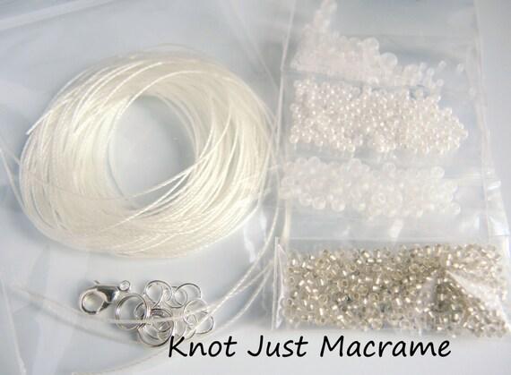 perle bracelet micro macram et kit de corde pour. Black Bedroom Furniture Sets. Home Design Ideas