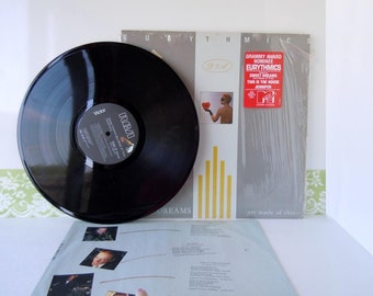 Vintage 1980s Eurythmics Sweet Dreams Are Made of These Record Album Vinyl LP This is the House Jennifer