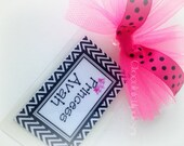 Princess Luggage Bag Tag Personalized and Custom by Chocolatetulipdesign
