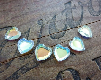 Vintage Swarovski  Heart Shape Rhinestone (6)