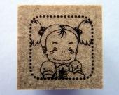 Studio Ghibli My Neighbour / Neighbor Totoro Little Girl Mei Japanese Rubber Stamp