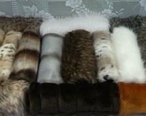 Faux Fur Hand MUFFS, Women's Hand Muffs, Faux Fur Muffs, Winter Hand Muffs, Long Fur Muff