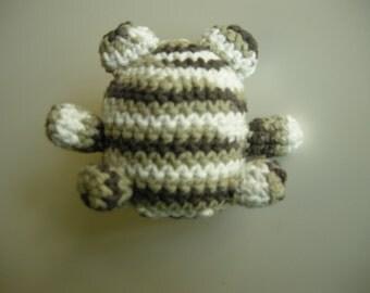 Amigurumi Catnip teddy bear cat toy