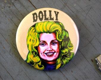 DOLLY PARTON Artist Pinback Button Pin