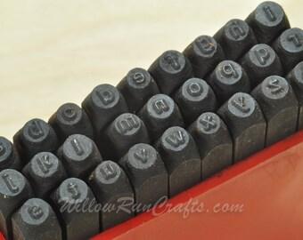 impressart metal stamp letters sans serif letters lower case 332 metal stamps letter stamps 21 09 402