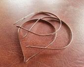 5 Metal Silver Headband