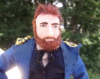 Ulysses S. Grant- OOAK Original Artist's Doll