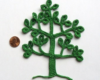 Crochet Tree Pattern -- PDF