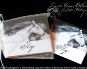 Just Fly, Equine Themed Note Cards