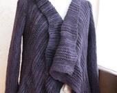 Sweater Knitting Pattern - Rebecca