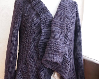 Sweater Knitting Pattern - Rebecca