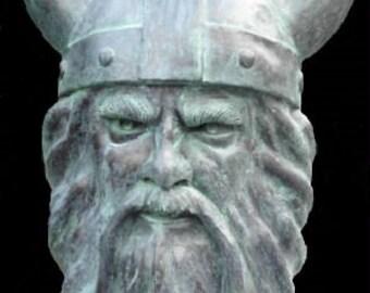 Viking Mascot Head