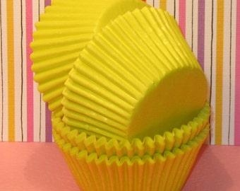 Sunshine Yellow Cupcake Liners   (Qty 45)