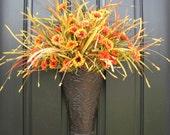 Fall Bouquet, Fall Leaves, Holidays, Fall Harvest, Pumpkins, Fall Floral Arrangement, Autumn Decor