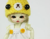 B129 - Lati White SP / Pukipuki / felix brownie Outfit (Dress and hat)