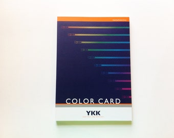 YKK Color Card
