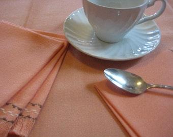 Vintage tablecloth and napkin set